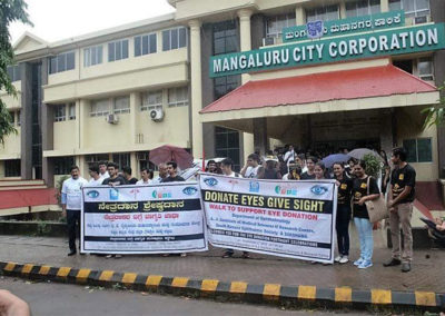 Eye Donation Awareness Rally