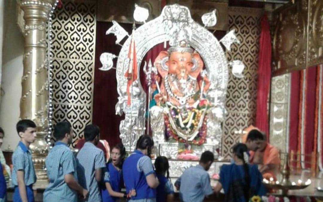 Visit to Sanghaniketan Ganeshotsava