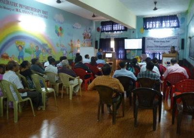 IAS Officer Trainees of 2013 Batch Winter Study Tour at Chetana Centre