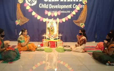 Celebration of Krishna Janmashtami