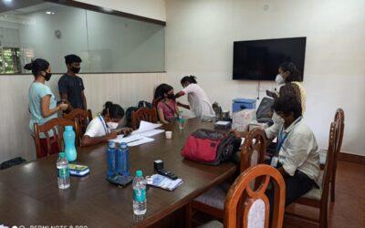 1st dose Covid Vaccination camp